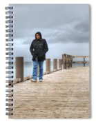 On The Dock Spiral Notebook