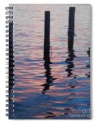 On The Dock Of The Bay Spiral Notebook