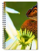 On The Edge Of Glory Spiral Notebook