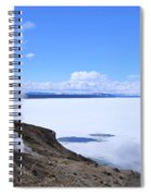 On The Edge Of Lake Yellowstone Spiral Notebook