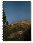 On The Going To The Sun Road  Spiral Notebook