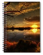 On The Horizon Spiral Notebook