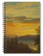 On The Hudson River Near Irvington Spiral Notebook