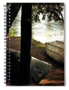On The Island Spiral Notebook