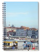 On The Lagoon Spiral Notebook
