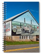 On The Lincoln Highway Spiral Notebook