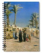 On The Outskirts Of Cairo Spiral Notebook