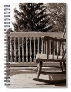 On The Porch Spiral Notebook