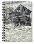 On The Prairie Spiral Notebook