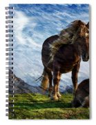 On The Range Spiral Notebook