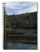 On The River Three Spiral Notebook