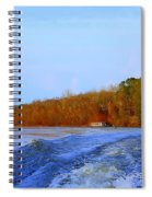 On The Rivers Bend Spiral Notebook