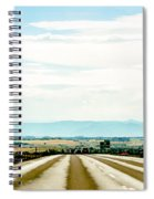 On The Road Again Spiral Notebook