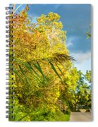 On The Road To Autumn Spiral Notebook