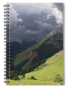 On The Road To Crystal Lake Spiral Notebook