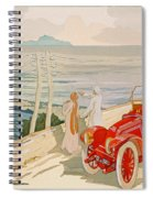 On The Road To Naples Spiral Notebook