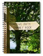 On The Road To Ruin Spiral Notebook