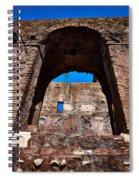 On The Ruins Of An Emipire Spiral Notebook