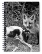 On The Scent Monochrome Spiral Notebook