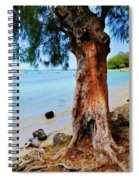On The Shore 1. Mauritius Spiral Notebook