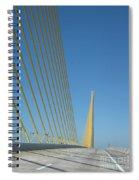 On The Sky Way Brigde  Spiral Notebook