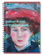 On The Terrace Renoir Rendition Spiral Notebook