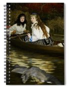 On The Thames     A Heron Spiral Notebook