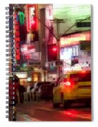 On The Town - Times Square Spiral Notebook