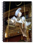 On The Trapeze Spiral Notebook