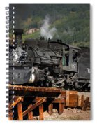 On The Trestle Spiral Notebook