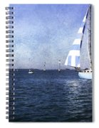 On The Water 3 - Venice Spiral Notebook