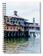 Buildings On The Water  Spiral Notebook