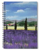 On The Way To Roussillon Spiral Notebook
