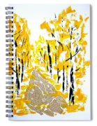 On The Way To School Spiral Notebook