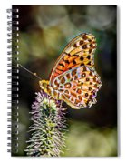 On The Wings Of A Butterfly... Spiral Notebook