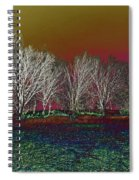 On Top Of The Hill Spiral Notebook