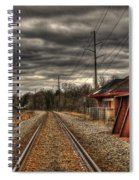 On Track Spiral Notebook