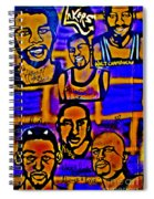 Once A Laker... Spiral Notebook