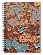 Once Painted Spiral Notebook
