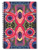 Once Upon A Time 2 - The Joy Of Design Xlll Arrangement Spiral Notebook