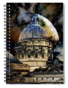 Once Upon A Time On A Warm Summers Night In San Francisco 5d22548 Spiral Notebook