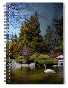 Once Upon A Time Under The Moon Lit Night . 7d12782 Spiral Notebook