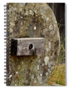Once Used Grinding Wheel Spiral Notebook