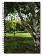 One Autumn Day - Central Park - Nyc Spiral Notebook
