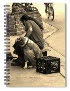 One Cool Dog Spiral Notebook