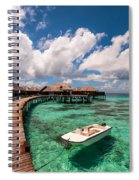 One Day At Heaven Spiral Notebook