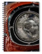 One-eyed Chevy Spiral Notebook