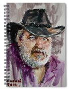 One Eyed Cowboy  Spiral Notebook