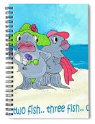 One Fish Two Fish Spiral Notebook