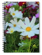 One Flower Stands Out Spiral Notebook